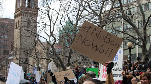 January 29, 2017 - 3:10pm - Copley Square Rally January 2017