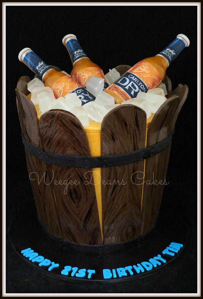 Brilliant Keg Of Carlton Dry Beer Birthday Cake Louise Goss Flickr Birthday Cards Printable Benkemecafe Filternl