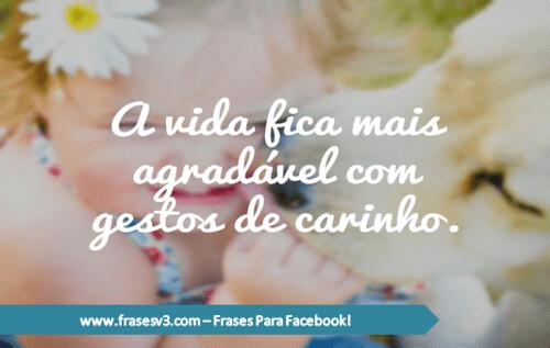 Frases Bonitas Gestos De Carinho A Photo On Flickriver
