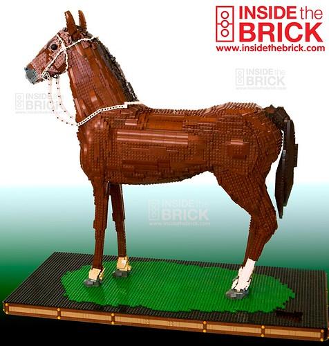 LEGO Phar Lap, Champion Racehorse