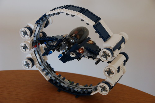 7661 Jedi Starfighter with Hyperdrive Booster Ring (6) | by lbaixinho