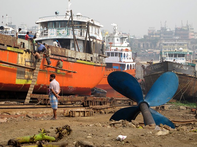 Keraniganj  ship repair yard, Dhaka