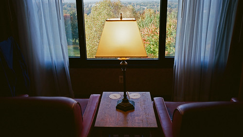 groveparkinn asheville northcarolina kodakportra400 contaxg2 shadows 2014 zeiss28mmf28biogon lowlight