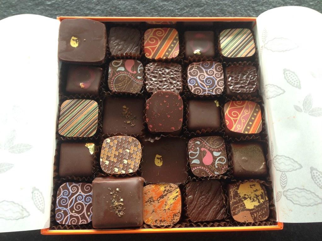 Pralinés de chez Poyet, Vevey (chocolates from Poyet)