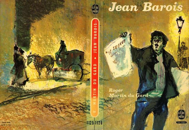 Livre de poche 1125/1126 - Roger Martin du Gard - Jean Barois (with back)