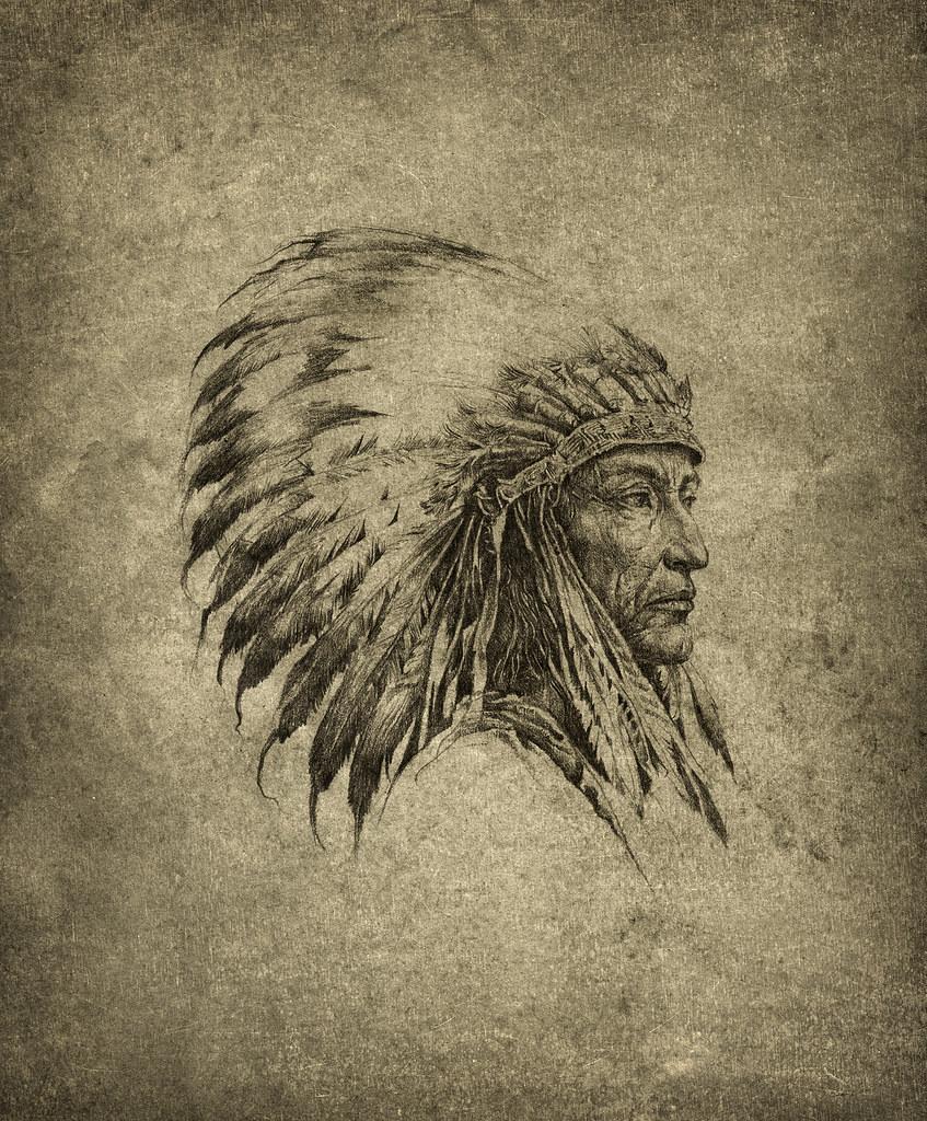 American indian chief by yaroslav gerzhedovich american indian chief by yaroslav gerzhedovich