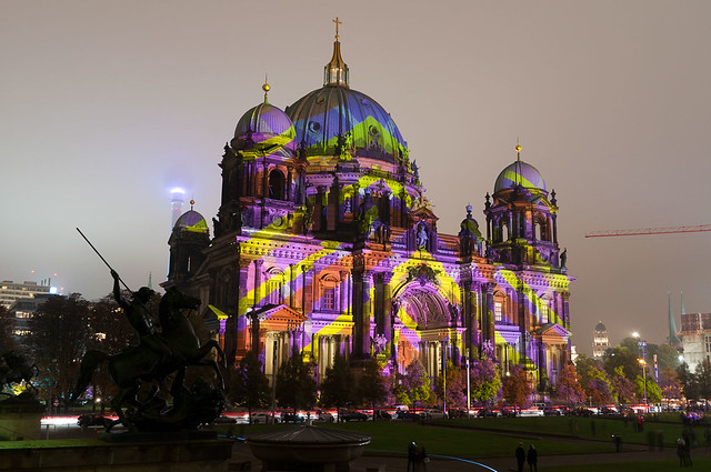 Festival Of Lights 2014 - Berlin Cathedral Pattern #6