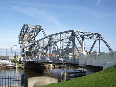 The lift bridge at Ashtabula harbor