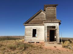 Presbyterian Church Taiban New Mexico Abandoned Wooden IMG_3296