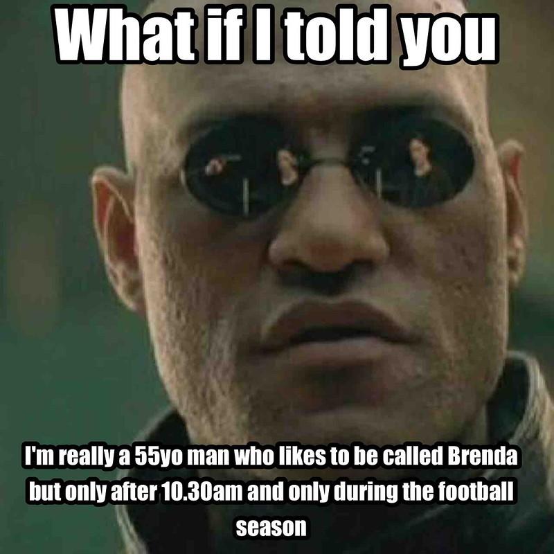 Matrix Morpheus Meme