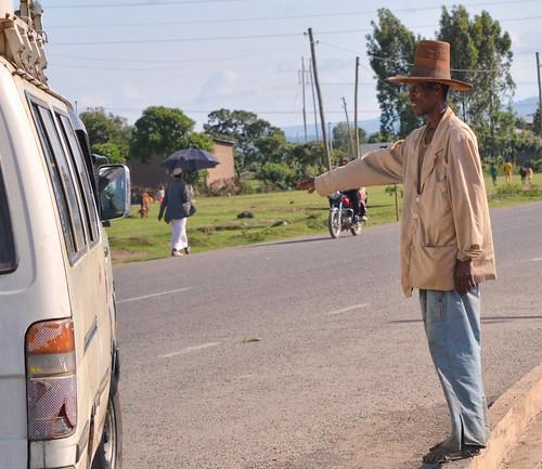 Hitchhiker, Ethiopia   by Rod Waddington