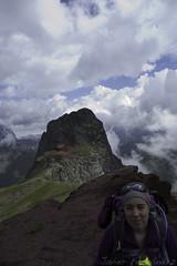 María y el Pico Anayet (2.545m)