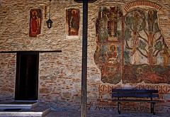Macedonia, Kastoria, Greece, Panagia Mavriotissa   Byzantine monastery   (11th c)