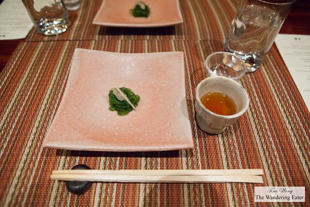 Seventh course - Tomezakama