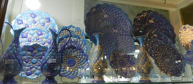 Cerámica Bazar de Isfahán Irán 10