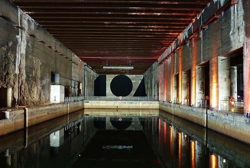 Ancienne Base sous marine allemande de Bordeaux, reconvertie en lieu culturel