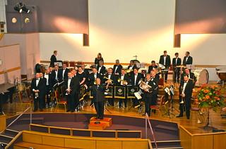 Konsert med Grimethorpe i Regent Hall