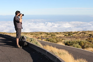 Above the clouds at the Teide Observatory