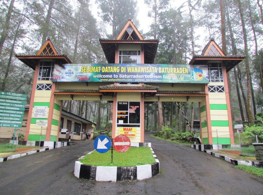 Objek Wisata Baturaden Objek Wisata Baturaden Purwokerto