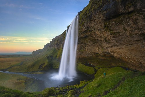 Seljalandsfoss at Sunset | by aevarg