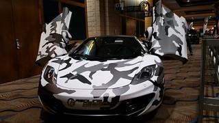 Camouflaged Lamborghini | by Michel Curi