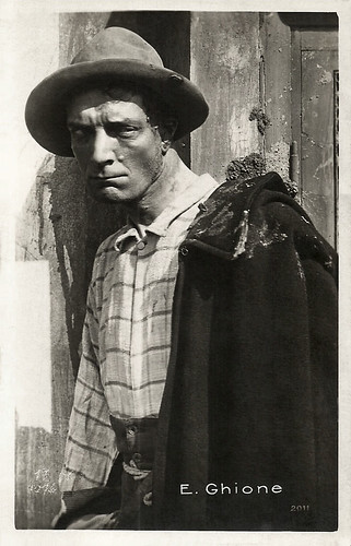 Emilio Ghione in Senza pietà