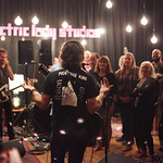 Tue, 09/09/2014 - 9:36pm - Ryan Adams with an audience of WFUV Members at Electric Lady Studios in New York City, 9/9/14. Photo by Gus Philippas