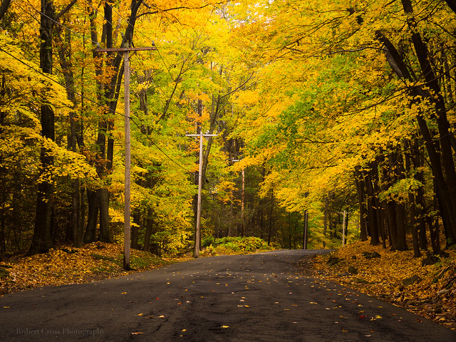 Autumn on the Backroads of New England