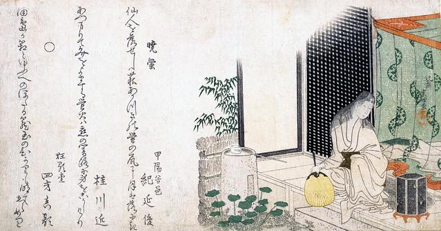 Summer Dawn's Caged Fireflies