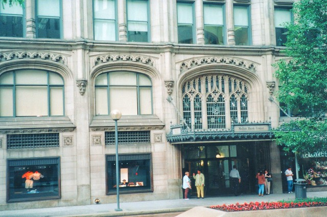 Pittsburgh Pa ~ Mellon Bank Center ~ Old 35mm Film