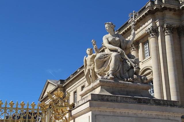Versailles - Château de Versailles: Grille Royale