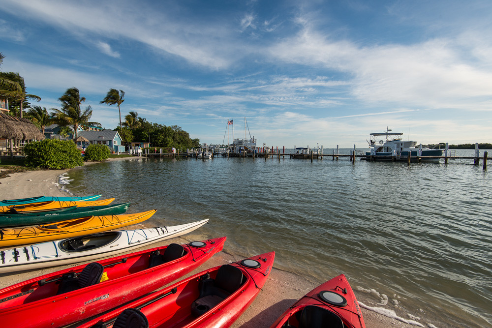Kayaking on Captiva