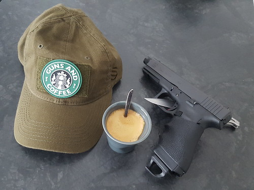 Glock and coffee