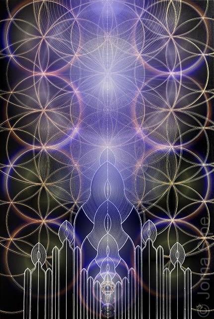 The Chapel of Silence I Illuminated Version web