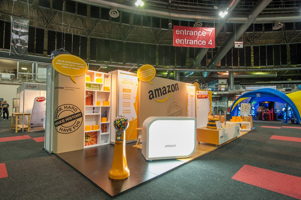 Expo Stands Cape Town : Amazon rage expo 2014 hott3d 8 small amazon booth at ragu2026 flickr
