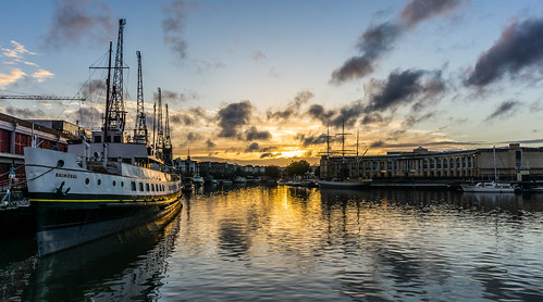 sunset bristol harbour balmoral