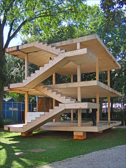 La maison Dom-ino de Le Corbusier (Biennale d'architecture 2014, Venise)