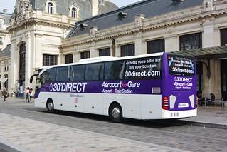 Mercedes Benz Tourismo M €6 146014 Cars de Bordeaux - 30'Direct Gare St Jean Arrière | by Sébastien Prt