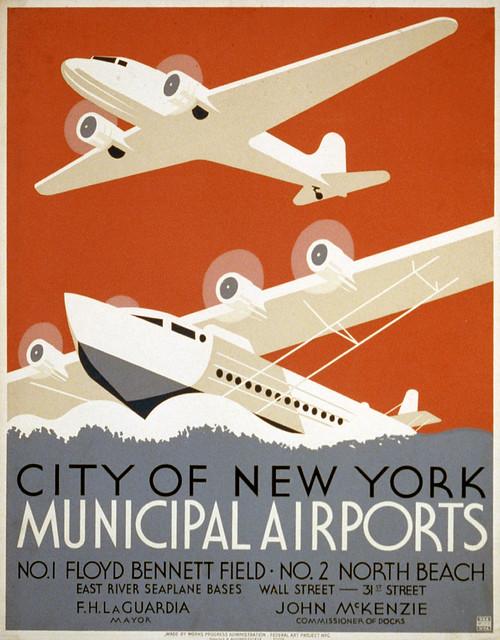 City of New York municipal airports, 1936