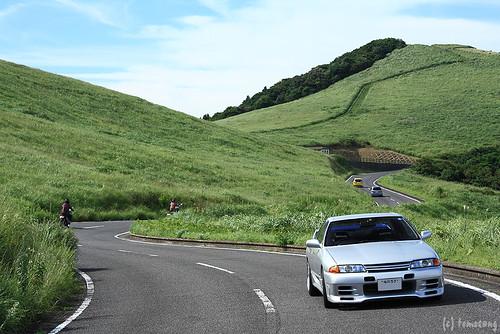 japan skyline nissan pass nagasaki kawachi r32 スカイライン 長崎 hirado 日産 峠 平戸 kawachipass 川内峠