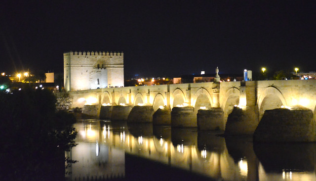 Bridge over Guadalguivir river -explored Oct2014