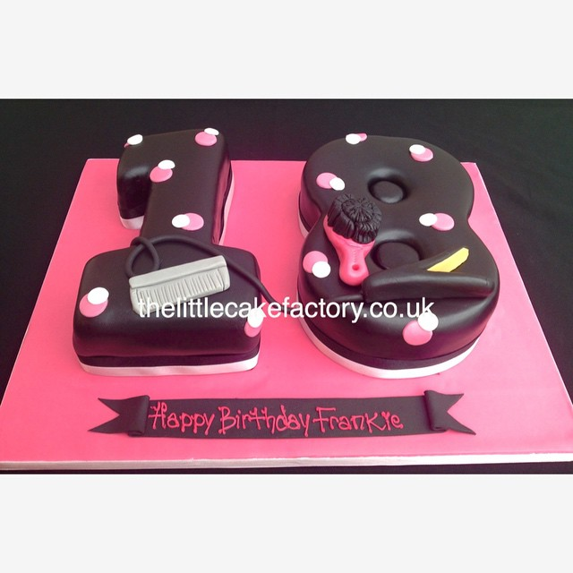 Brilliant Hairdresser 18Th Cake Hair Hairstylist Hairdresser 18 Flickr Funny Birthday Cards Online Overcheapnameinfo
