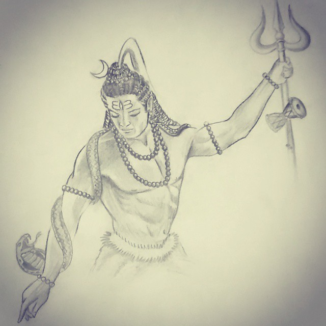 shiva #shankar #bhole #draw up | Vigneshkumar Pillai | Flickr