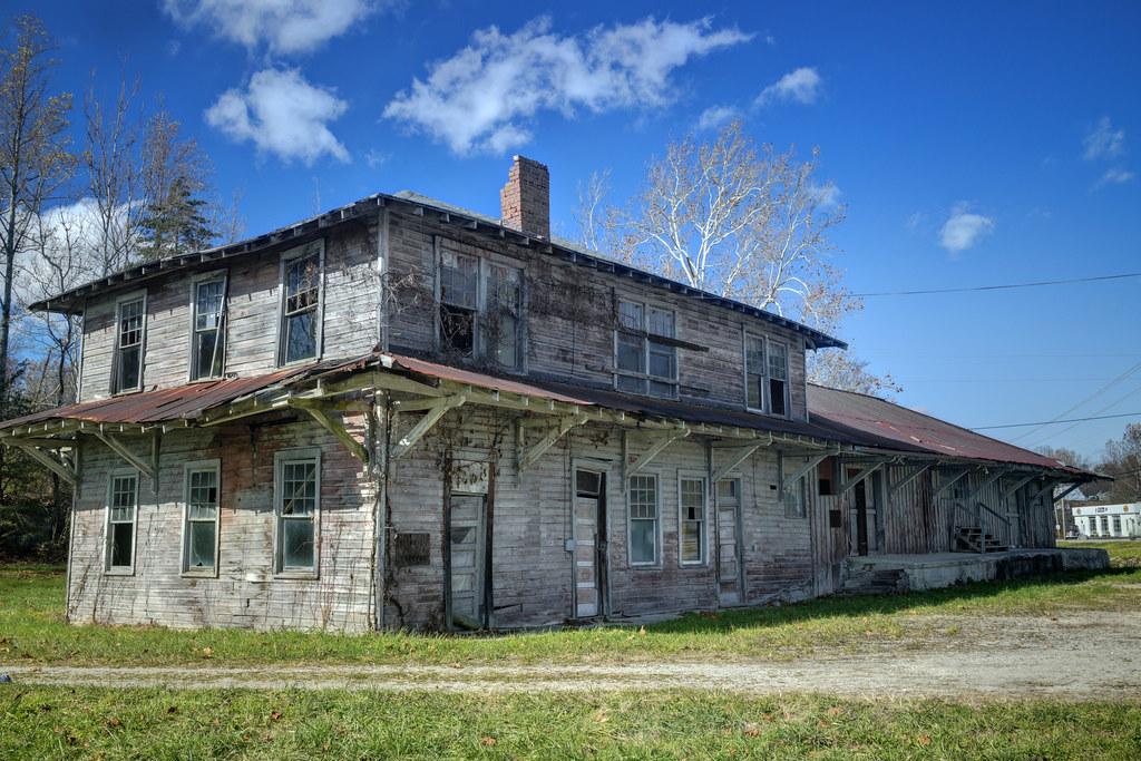Oneida & Western Railroad Depot, Jamestown, Tennessee