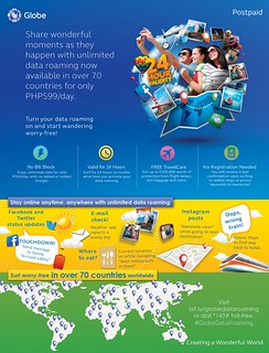 Globe Telecom P599 Infographic | by phil_trophy