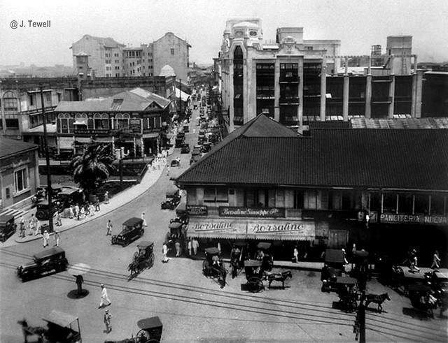 Escolta Street, Manila, 1928-1929