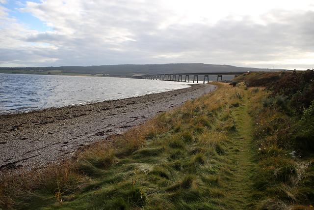 The Dornoch Firth near the bridge