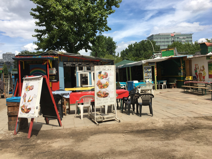 Ly, Cindy; Berlin, Germany - FOUR Jamaican food at YAAM