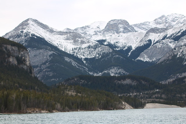 The view from Barrier Lake Alberta Canada