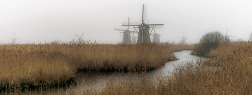 kinderdijk holland thenetherlands netherlands alblasserwaard windmill molen landscape
